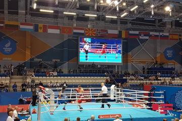 Minsk-2019: Azərbaycan boksçusu ukraynalı rəqibinə qalib gəlib