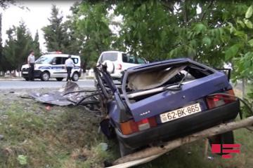 Two killed in road accident in Zagatala