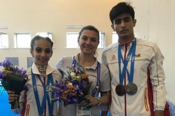 Минск-2019: Третья медаль от спортивных акробатов