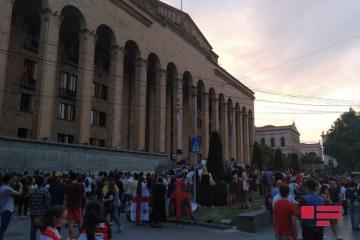 Tbilisidə etiraz aksiyası davam edir - [color=red]FOTO[/color]