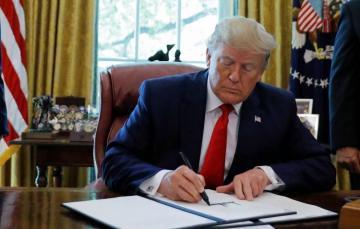 Трамп подписал указ об ужесточении санкций против Ирана