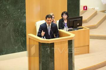 Gürcüstan parlamentinin yeni sədri seçilib