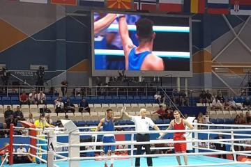 Azərbaycan boksçusu Minsk-2019-da rəqibini məğlub edib