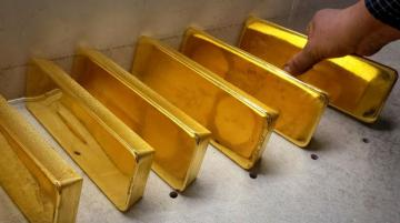 Цена на золото взлетела до шестилетнего максимума