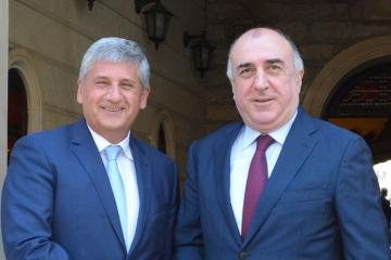 Azerbaijani FM receives Director General of Int'l Centre for Migration Policy Development