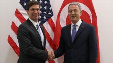 Turkish, US top defense officials discuss F-35, Syria