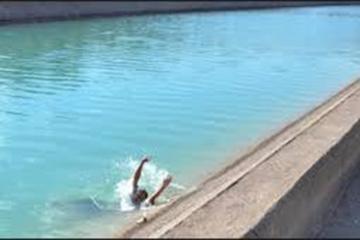 62 yaşlı kişi su kanalında boğulub ölüb
