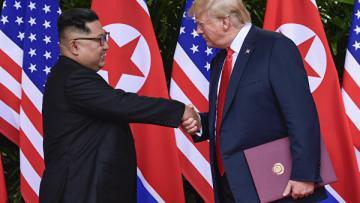 Трамп заявил о готовности встретиться с Ким Чен Ыном в ближайшие дни