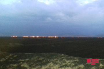 Армяне устроили поджог на оккупированных территориях - [color=red]ФОТО[/color]