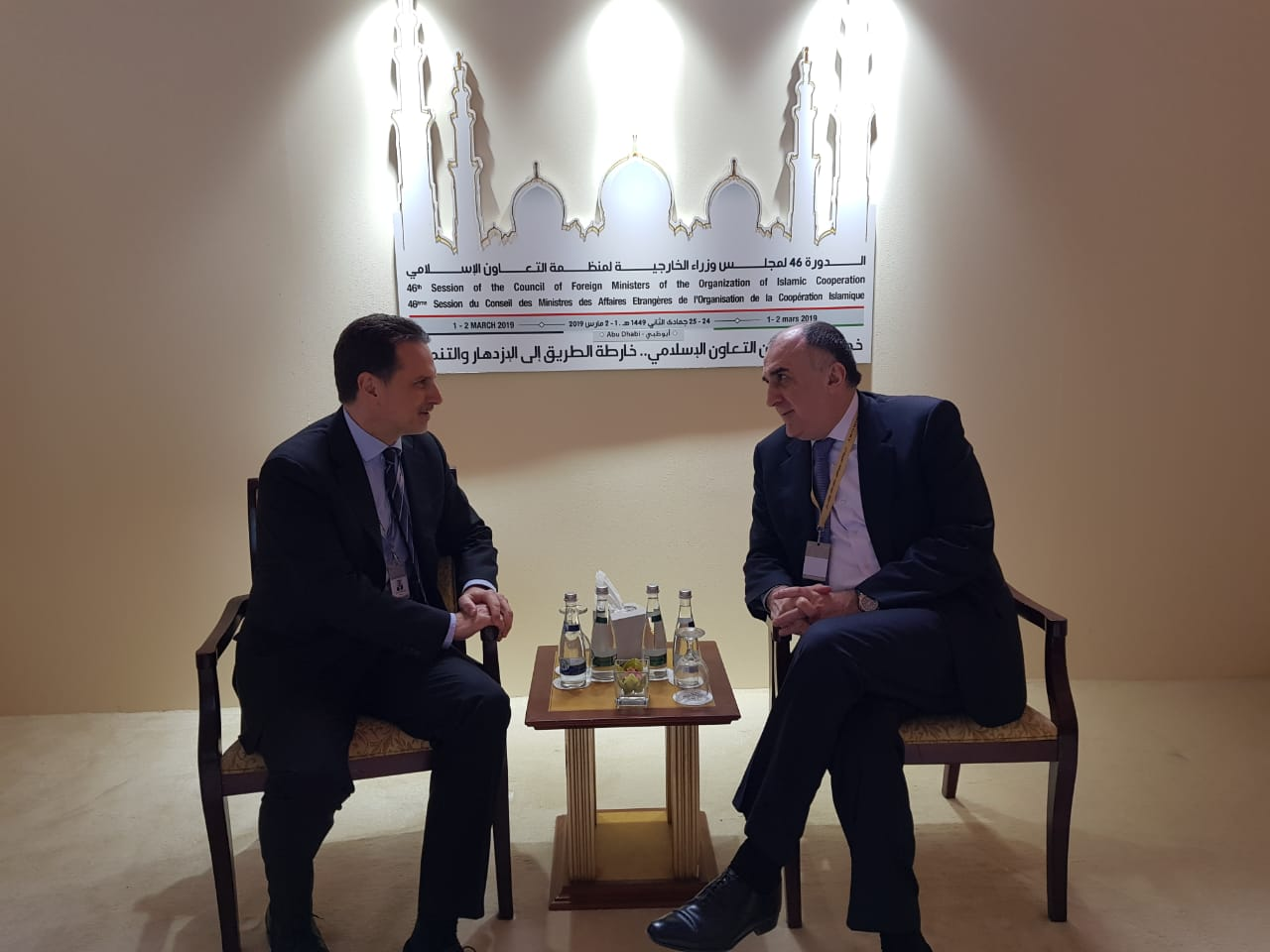 Azerbaijani FM meets with the Commissioner-General of the Relief and Works Agency for Palestine Refugees