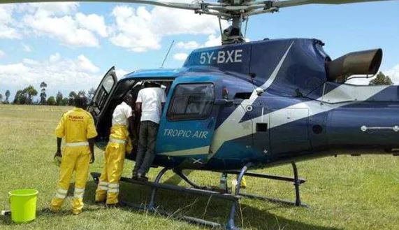 Helicopter crash kills four Americans and their pilot in Kenya