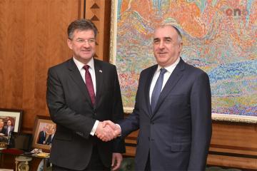 Началась встреча между действующим председателем ОБСЕ и главой МИД Азербайджана