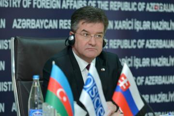 Председатель ОБСЕ: Мы оказываем последовательную поддержку карабахскому урегулированию