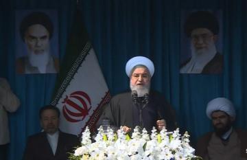 """Həsən Ruhani: """"İran iqtisadi müharibə aparır"""""""