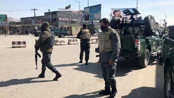 При атаке в Кабуле пострадали не менее 14 человек