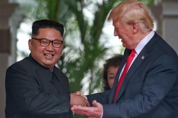 """Болтон: """"Трамп открыт к новым переговорам с Ким Чен Ыном"""""""