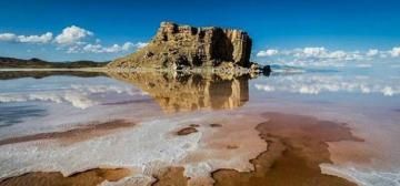 Urmiya gölündə suyun həcmi 560 milyon kubmetr artıb