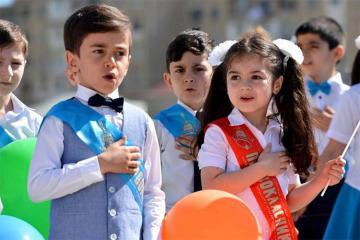 В Азербайджане объявлено время приема в I класс