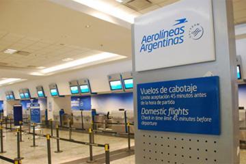 Buenos-Ayres aeroportu fəaliyyətini dayandırıb