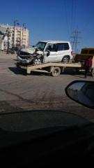 В Мехдиабаде столкнулись два автомобиля