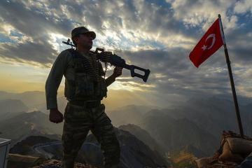 Türkiyə ordusu PKK-ya qarşı əməliyyat keçirib