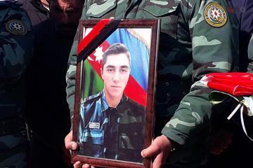Похоронен погибший на ирано-азербайджанской границе солдат