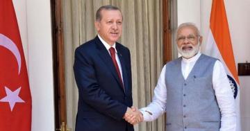Erdogan, Modi discuss Pakistan-India border incidents