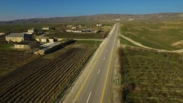 Qobustan-Poladlı avtomobil yolu yenidən qurulub