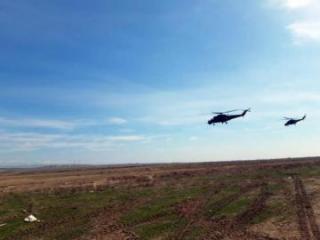 В ходе учений проведена передислокация боевых авиационных средств