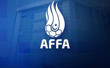"""AFFA """"Sumqayıt""""ın baş məşqçisini bir, qapıçısını üç oyunluq cəzalandırıb"""