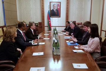 Foreign Minister Elmar Mammadyarov received the newly appointed Ambassador of the United States of America