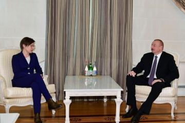 President Ilham Aliyev received UNDP Assistant Administrator