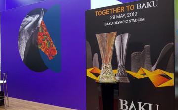Moskvadakı sərgidə UEFA Avropa Liqasının Bakıda keçiriləcək finalı ilə bağlı stend quraşdırılıb