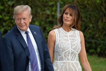 Трамп прокомментировал слухи о двойнике жены