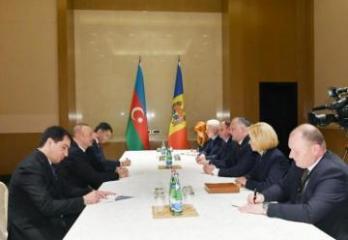 Azərbaycan Prezidenti İqor Dodonla görüşüb