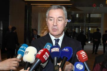 "Milo Dukanovic: ""Montenegro-Azerbaijan relations stand at high level"""
