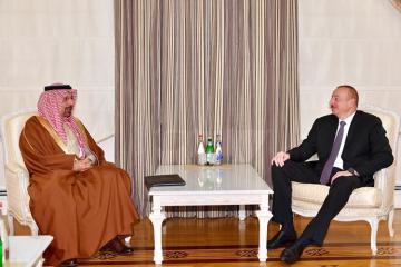 President Ilham Aliyev receives Minister of Energy, Industry and Mineral Resources of Saudi Arabia