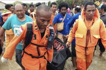 İndoneziyada təbii fəlakət 63 nəfərin ölümünə səbəb olub
