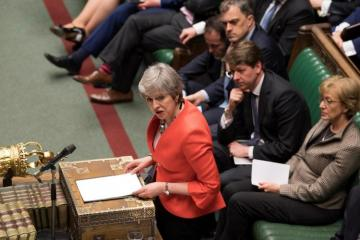 May warns of long delay to Brexit unless parliament backs her deal