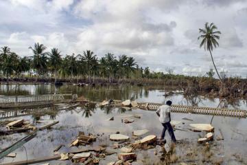 Yeni Qvineyada daşqın zamanı 42 nəfər ölüb
