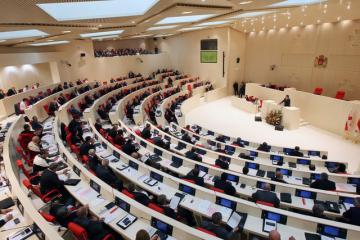 В парламенте Грузии произошла драка - [color=red]ВИДЕО[/color]