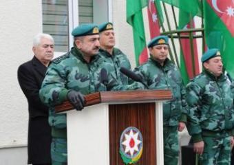"""DSX-nın """"Qazax"""" sərhəd dəstəsinin yeni hərbi hissəsi istifadəyə verilib"""