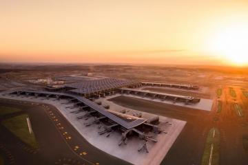 Начиная с 7 апреля все рейсы AZAL в Стамбул будут выполняться в новый аэропорт