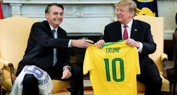 Trump says strongly considering NATO membership for Brazil