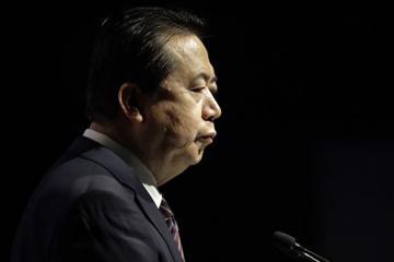 Жена экс-главы Интерпола подала жалобу из-за попытки похищения