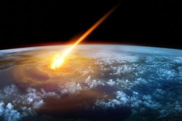 Земля была атакована небольшим метеоритом