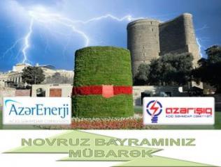 """""""Azərenerji"""" və """"Azərişıq"""" bayram günlərində gücləndirilmiş iş rejimində işləyəcək"""