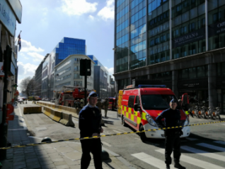 Dozens reportedly evacuated following bomb threat in Brussels