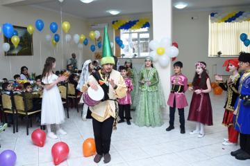 Heydər Əliyev Fondunun təşəbbüsü ilə kimsəsiz və xüsusi qayğıya ehtiyacı olan uşaqlar üçün Novruz şənlikləri keçirilib