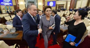 Dariqa Nazarbayeva Senat sədri kimi əsas məqsədlərini açıqlayıb